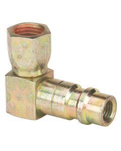 1/4 Flare 90 Degree 134a Service Port Adapter