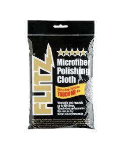 "Microfiber Polishing Cloth 16"" x 16"" Grey- Single"