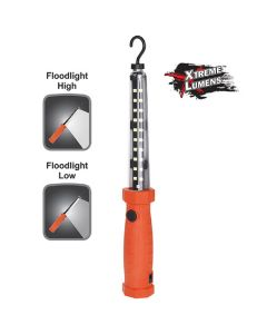 Bayco Multi-Purpose Rechargeable Floodlight With Magnetic Hooks - Red