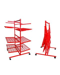 PRO-TEK Body Shop Rack with 6 Shelves