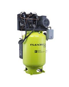 Air Compressor 10HP, 120 GAL, 3 PH, 208V, Vertical