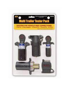 Vehicle-side trailer circuit tester jobber pack
