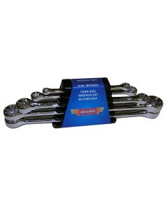 5-Piece Torx Box Wrench Set