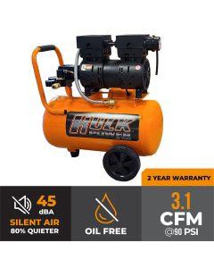 Hulk 1hp 6 Gal. Silent Air Portable Compressor