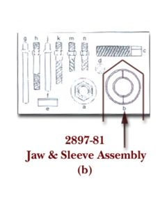 Jaw Assembly and Sleeve for KDT2897