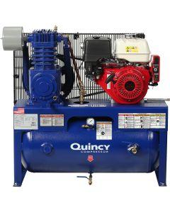 QT-7.5 Splash Lubricated Recip Air Compressor Model G213H30HCB, 13 HP