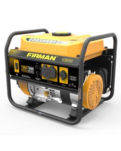 Open Frame 1300/1050W Recoil Gasoline Powered Portable Generator with 12V Outlet