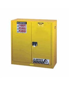 Yellow Fire Safety Cabinet, 40-Gallon