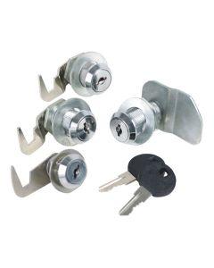 Sunex 4-Piece Lock Set for Service Cart 8013/3313