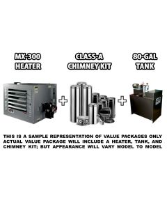 MX-300 Heater Pack A, No Stand