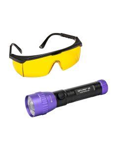 OPTI-PRO UV Cordless, Violet Light LED Flashlight
