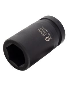"1"" Drive Deep 6PT Impact Socket, 33mm"