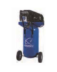Quincy SS 2-HP 26 Gallon Single-Stage Air Compressor (115V-1-Phase)  Vertical Portable