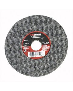 "CUT-OFF WHEEL,4""X1/8""X 3/8 in"