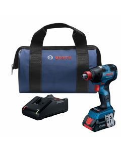 18V Brushless Socket Ready Impact Driver, Connected Ready w/ (1) 4.0 Ah CORE Compact Battery