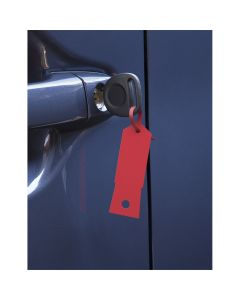 Red Plastic Key Tags- 1,000/Box