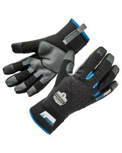 817WP XL Black Reinforced Thermal Waterproof Winter Work Gloves