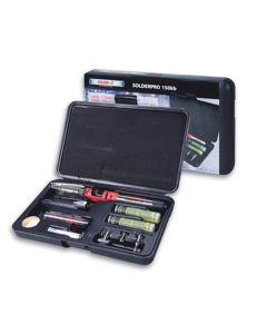 Multi-Function Butane Heat Tool Kit, SolderPro, 30W to 125W, Slim Design, Tips, Removable LEC