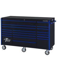 Extreme Tools RX Series-Drawer Black Blue-Drawer