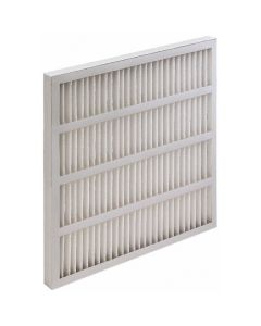 "20 x 25 x 1"", MERV 8, 35 to 45% Efficiency, Wireless Pleated Air Filter"