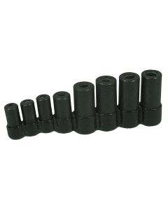 8-Piece Tap Socket Set for all MCTI Taps thru 1/2 in.