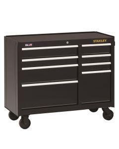 DeWalt Stanley 8-Drawer Rolling Cabinet, 41 in., Black