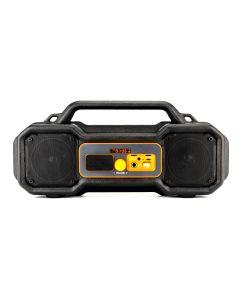 Waterproof JobSite Magnetic Boombox BT Speaker