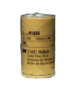 GOLD DISC ROLLS STIKIT P320G 6IN 175/ROLL