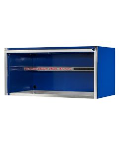 55 in. Extreme Power Work Station Hutch, Blue