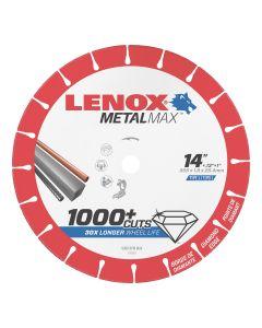 LENOX Metal Max Chop Saw Diamond Cutoff Wheel 14 in. x 1 in.