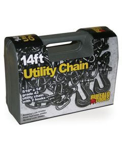 New Buffalo 14 ft. Grade 43 Utility Chain with 2 Hooks
