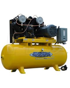 Compressor 7.5 HP 2 Stg 3 Ph Horz 80 Gal