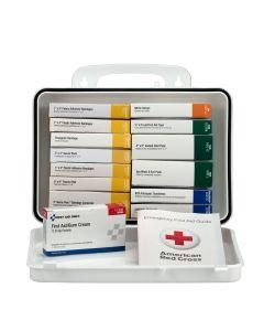 16 Unit First Aid Kit, Plastic Case