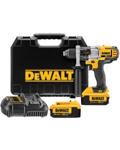 DeWalt 20V MAX Li-Ion Premium 3-Speed Drill / Driver w/ (2) XR 4.0 Ah Batteries Kit