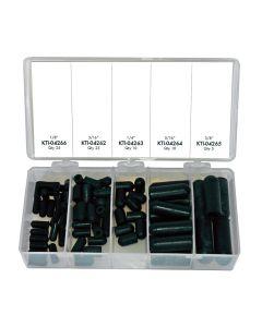 75-pc Vacuum Tee Cap Kit, Entry Level Vacuum Tee Assortment