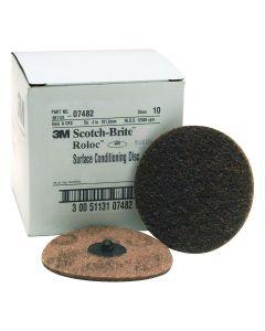 "4"" Coarse Scotch Brite Roloc Surface Conditioning Discs"