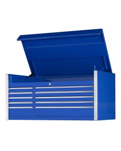 55 in. 10-Drawer Professional Tool Chest, Blue