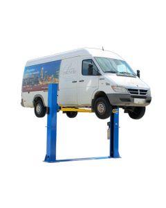 Atlas 10,000 lb. Capacity 2-Post Baseplate Automotive Lift (Freight Prepaid)