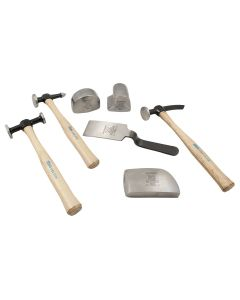 7-Piece Body and Fender Repair Set with Hickory Handles