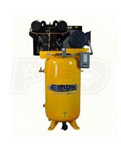 Compressor 7.5 HP 2 Stg  3 Ph Vert 80 Gal