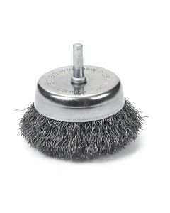 """2-1/2"""" Crimped Wire Cup Brush"""