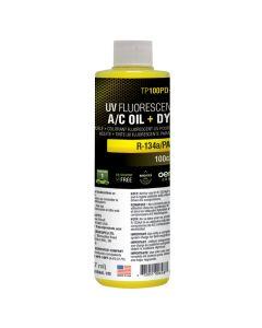 8 oz (237 ml) bottle PAG 100 A/C oil with fluoresc