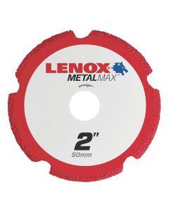 LENOX Metal Max Die Grinder Diamond Cutoff Wheel 2 in. x 3/8 in.