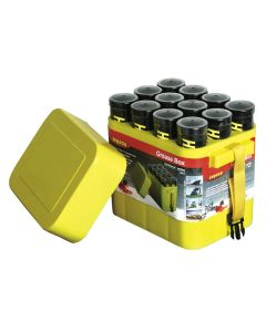 Porta-Pak 12 Pack Grease and Caulk Tube Storage Box