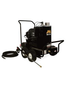 HSE Series Hot Water Pressure Washer, Electric Direct Drive, 1.5 HP Motor, 120V, 15A, 1000 PSI