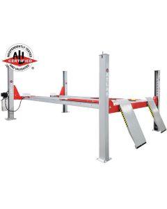 Atlas Platinum 14,000 lb. Capacity 4-Post Open Front Alignment Lift (Prepaid Freight)