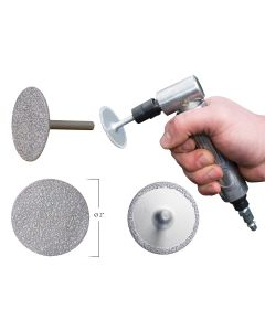 Diamond 2 in. Grinding Wheel, 3-in-1