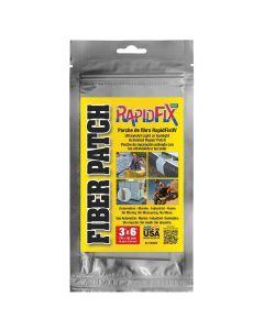UV Fiber Patch 3IN x 6I, 18 SQ IN