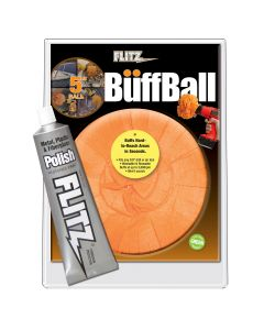 5 Inch Large Buff Ball with Free Flitz Polish 1.76
