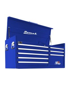Homak Mfg. 56 in. H2Pro Series 8 Drawer Top Chest, Blue